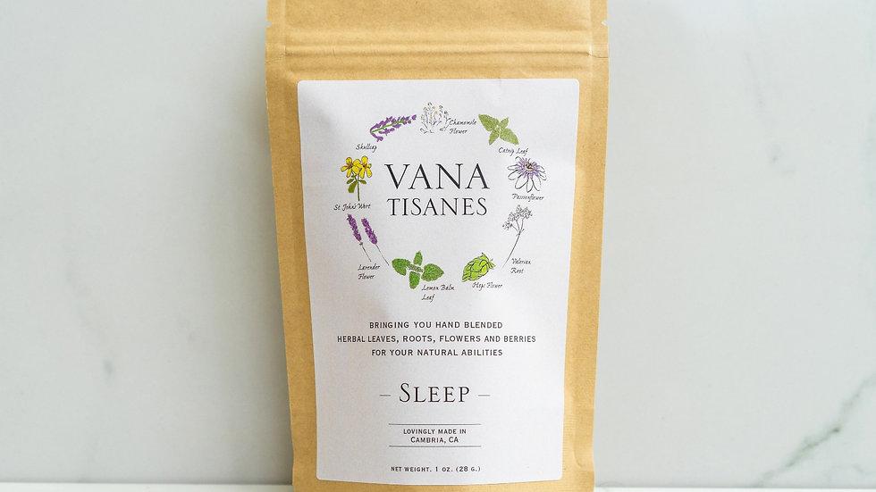 美國VANA TISANES Sleep 改善睡眠 28g