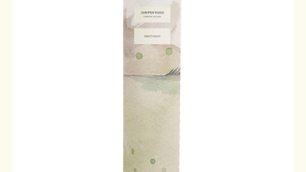 美國JUNIPER RIDGE Sweetgrass Incense sticks 甜茅草薰枝  20pc (枝)