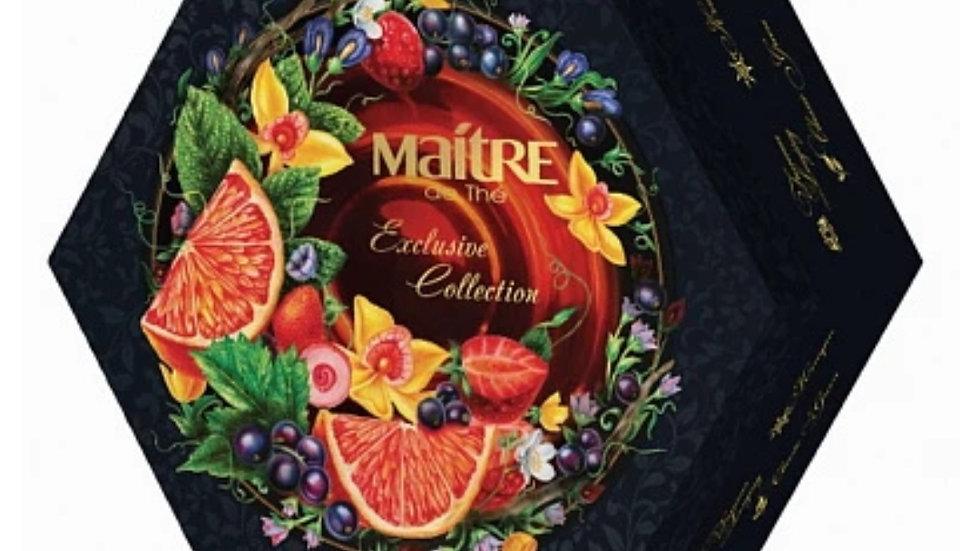俄羅斯MAITRE de THE Exclusive Collection  幻彩錦盒