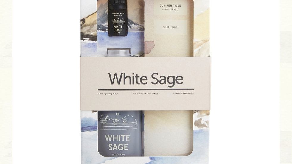 美國JUNIPER RIDGE White Sage Gift 白鼠尾草禮盒套裝