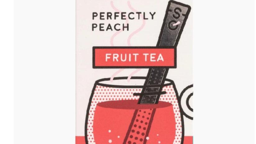 英國STICKSOLOGY Perfectly Peach 蜜桃果味紅茶