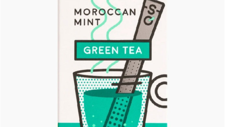 英國STICKSOLOGY Moroccan Mint摩洛哥薄荷味綠茶