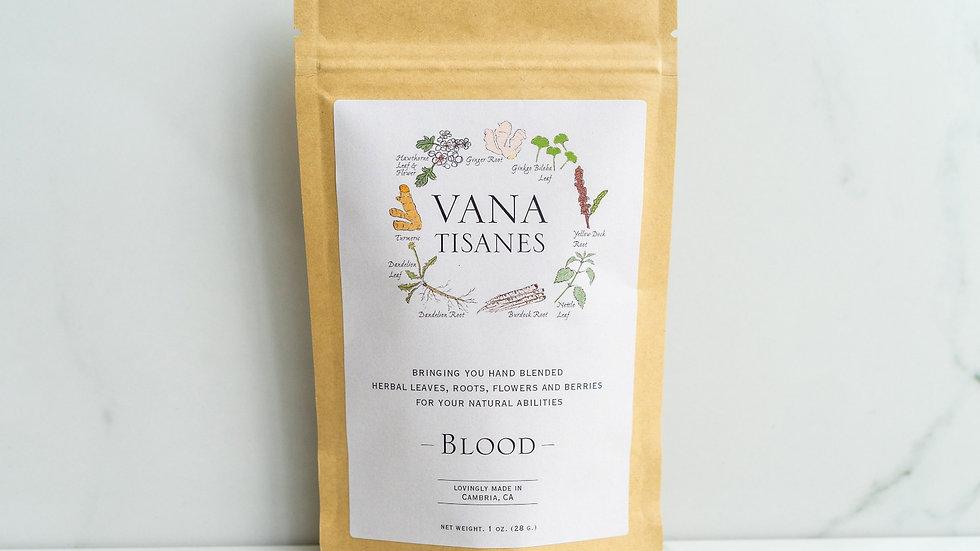 美國VANA TISANES Blood 活血抗氧草本茶 28g