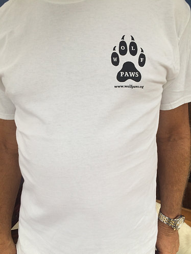 Wolf PAWS T-Shirt Short Sleeve