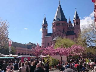Bilder der Präsidentenfahrt Mainz