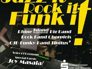 Jazz it-Rock it-Funk it!