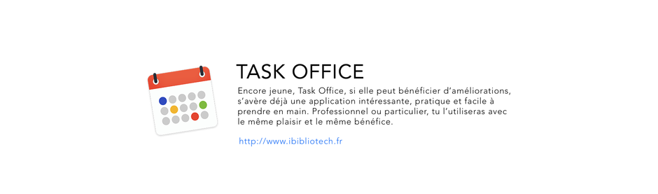 Get more info on Task Office in use