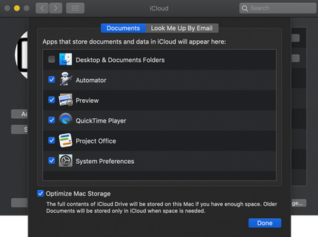 """To share projects to your iOS device after finishing up with your project, choose """"iCloud Drive"""" folder when saving a new project on your Mac."""