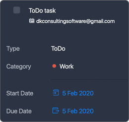 if task is a ToDo type in Task Office, then in Apple Calendar it will be All-day ON;