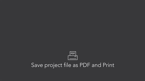 Save as PDF and Print