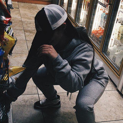 Grey TOMA sweatsuit for the pioneer._Few