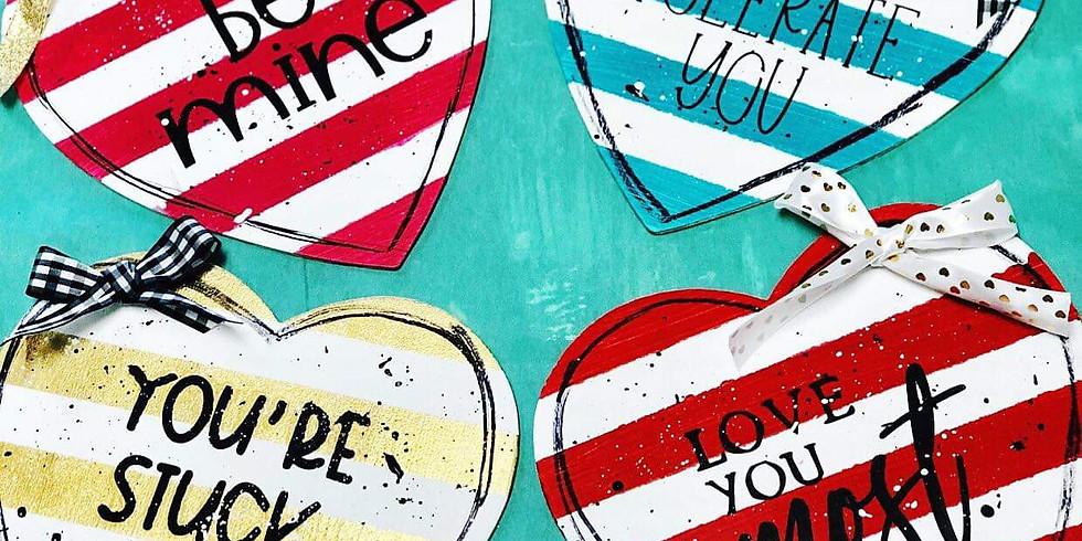 2/9 DIY Happy Hearts