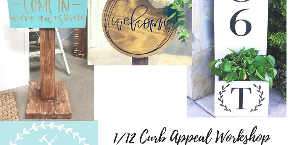 1/12 Curb Appeal Workshop