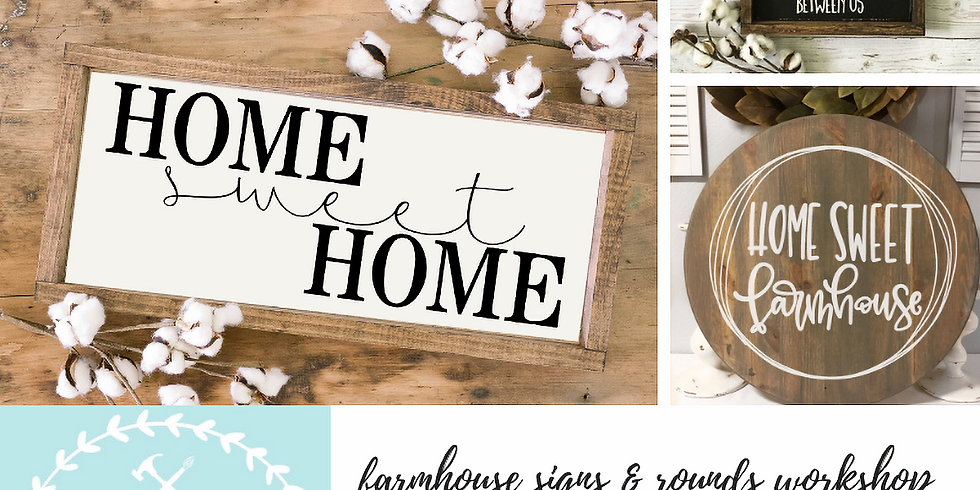 11/14 Farmhouse Signs & Rounds