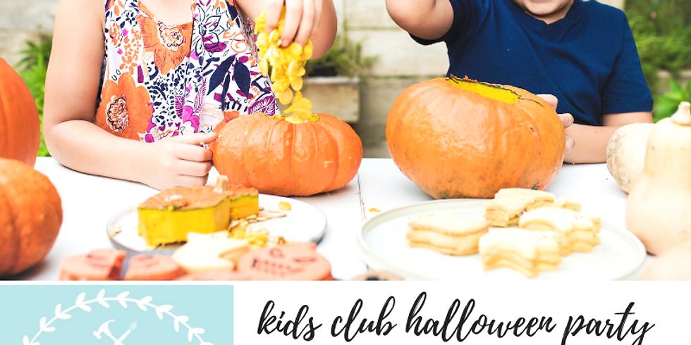 10/13 Kids Club Halloween Party