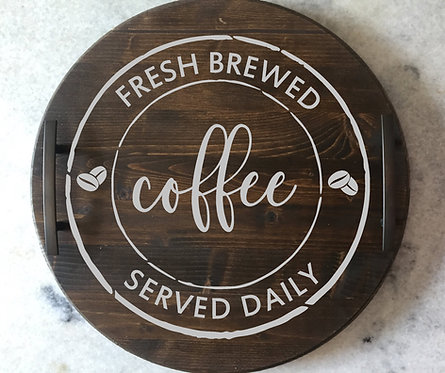 Coffee Tray Round (Starting at 40.00)