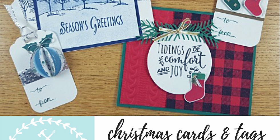 12/4 Holiday Cards & Tags