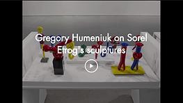 Gregory Humeniuk on Sorel Etrog's sculpt
