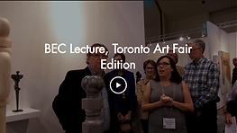 BEC Lecture - Toronto Art Fair Edition.p