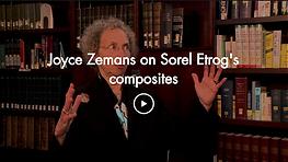 Joyce Zemans on Sorel Etrog's composites