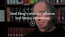 Sorel Etrog's art-world influence and li