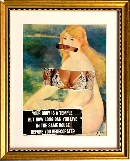 New impressionism - My body