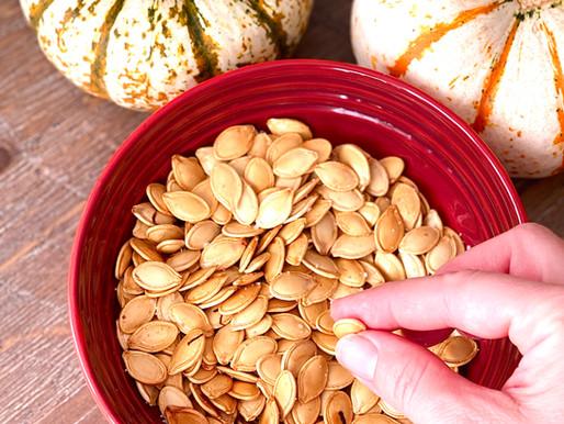 Homemade Pumpkin Seeds - Pepitas