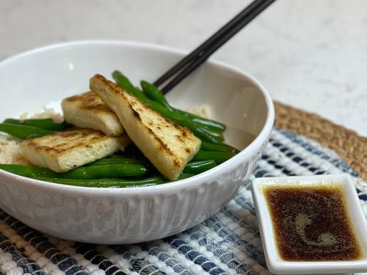 Crispy Tofu with Japanese Dipping Sauce