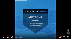 Word Meaning Wednesdy: Sharpnuh