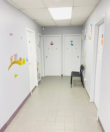 1:1 ABA Therapy Rooms
