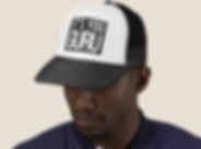 Guru Trucker Hat | B&W Block Logo.png