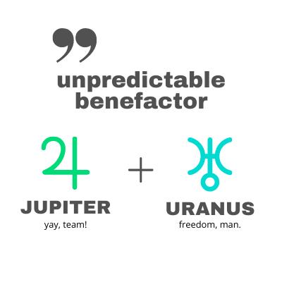 Jupiter Uranus Comic Connection