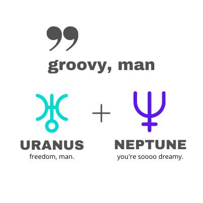 Uranus Neptune Comic Connection