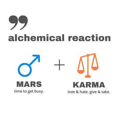 Mars Karma Comic Connection