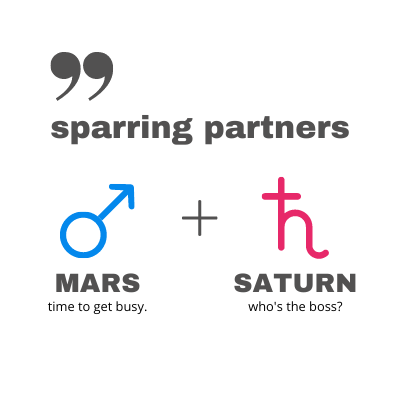 Mars Saturn Comic Connection