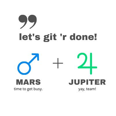 Mars Jupiter Comic Connection