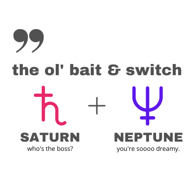 Saturn Neptune Comic Connection