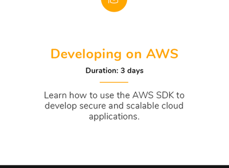 My Favourite AWS Course