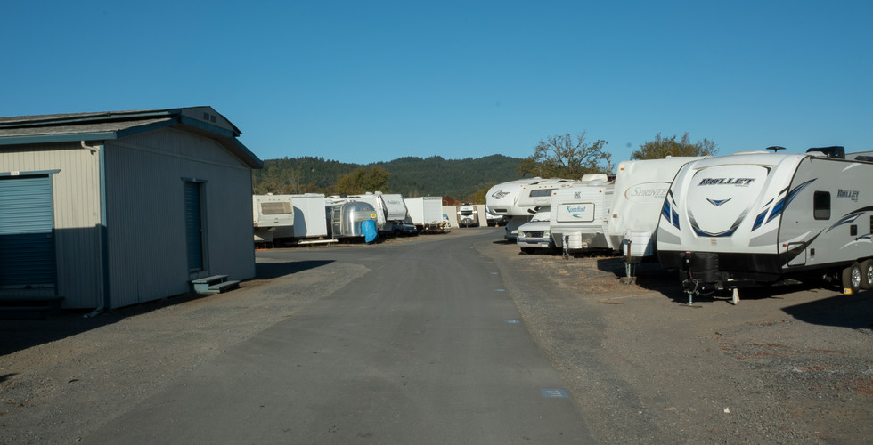 RV Storage at Payless Storage Cloverdale