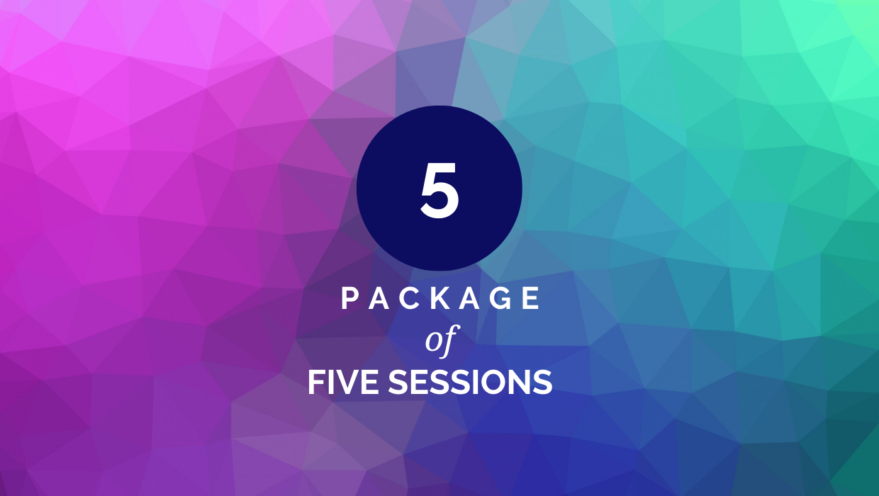 Five Session Package (45 Min)