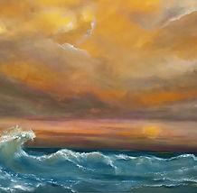 Sunrise In Its Glory by Jan Hashi