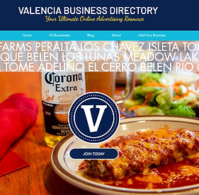Valencia Business Directory Home Page.pn