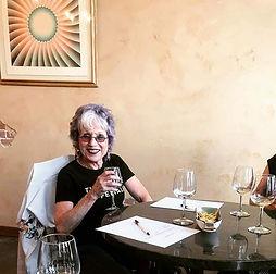 Judy Chicago at Jaramillo Wine Tasting Room