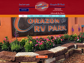 Corazon RV Park Home Page