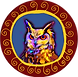 Posterized Owl Whimsical CIRCLE.png