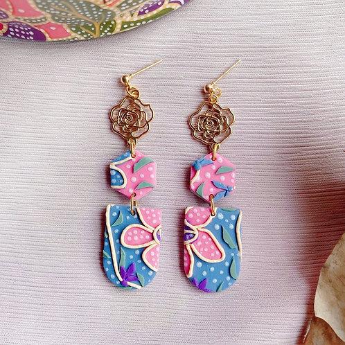Batik Pink Flower Bundle - Rose