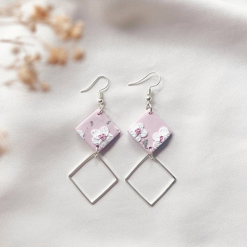 HANAMI Diamond Dangles