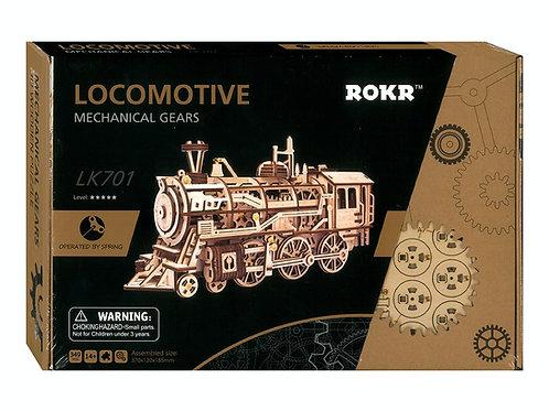 Mechanical Gears Locomotive - Puzzle
