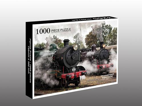 Locomotives 3526 & 3265 1000 piece puzzle (Pre order)