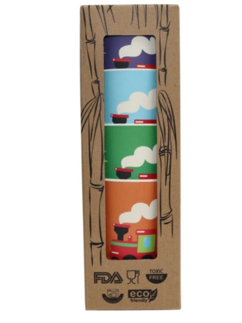 Bamboo cups - 4 pack